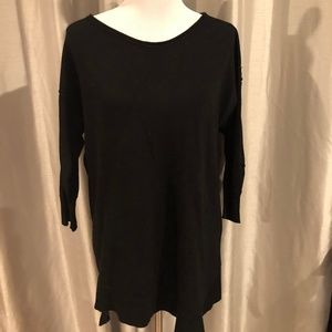 Verve Ami Brand L Brand Long Tunic Sweater women's